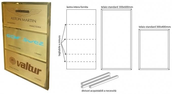 Porta targhe la mondialtarghe - Targhe porta plexiglass ...